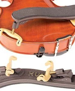 Kun Collapsible Mini Brown Shoulder Rest for 1/16 - 1/4 Violin